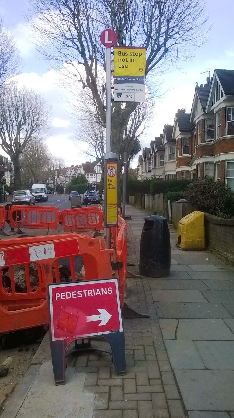 WEMBLEY MATTERS: Bus stop closed by redevelopment provokes fury in