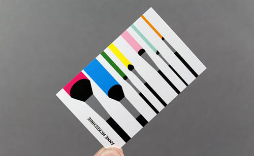 14 Make-Up Artist Business Card Examples Mow Design Graphic
