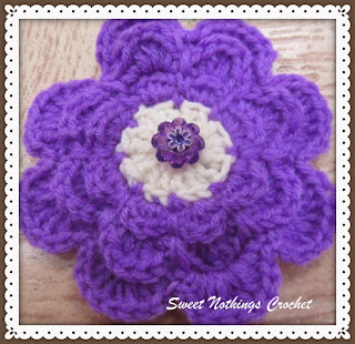 crochet flower motif free pattern