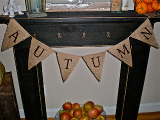 Vintage Afterthoughts: Fall Mantle or Mantel (whichever ...