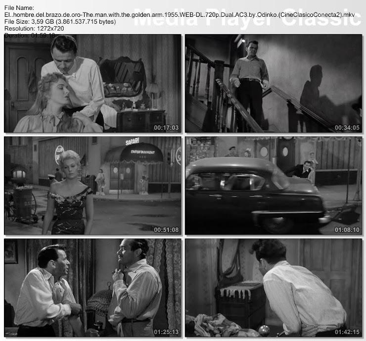 El hombre del brazo de oro | 1955 | Secuencias de la película