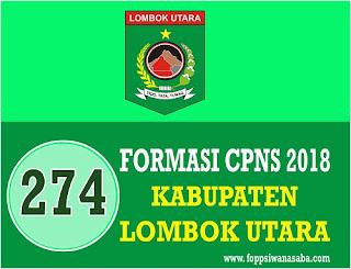 Formasi CPNS 2018 Kab. Lombok Utara