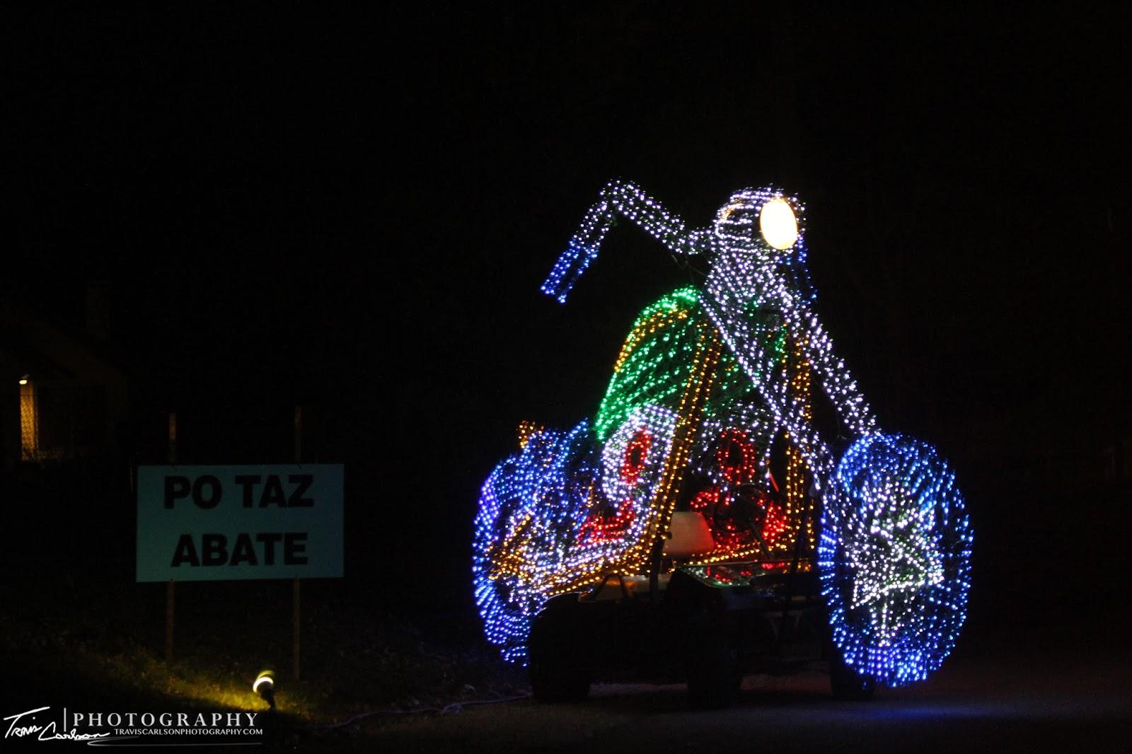 Peoria Il Festival Lights