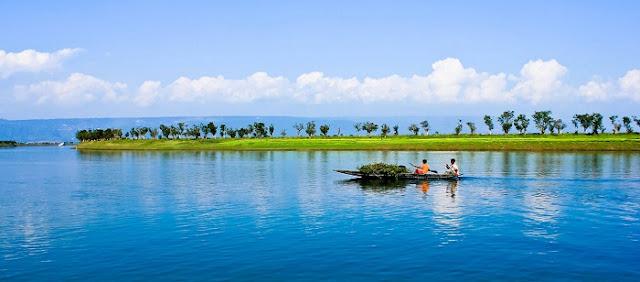 Sunamganj - attractive natural tourist place in Bangladesh
