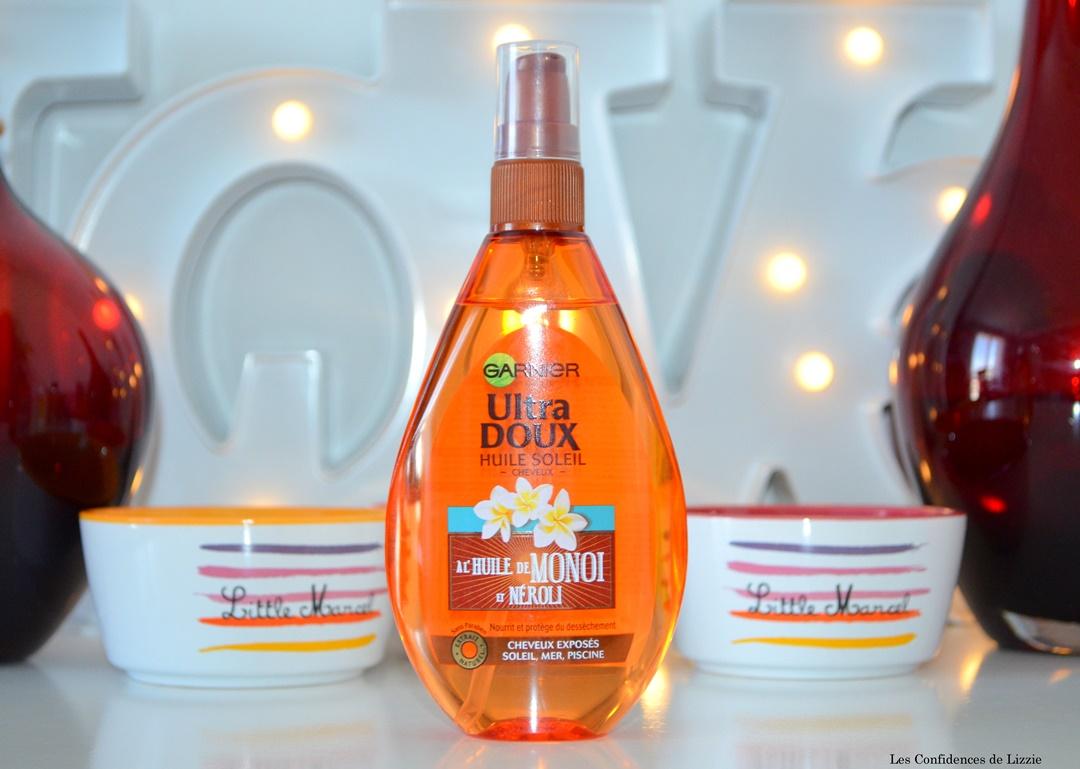 huile de monoi - huile de neroli - soin capillaire - protecteur solaire - protecteur cheveux solaire
