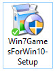 How to install Windows 7 games on Windows10