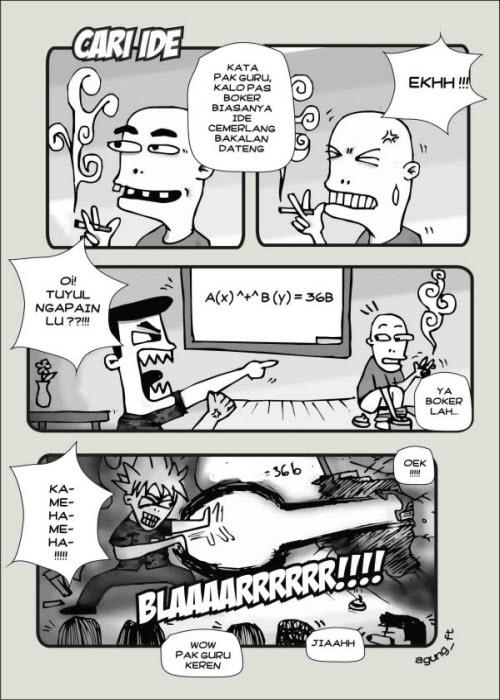Kumpulan Komik Lucu webtoon dan meme lucu gokil yang buat