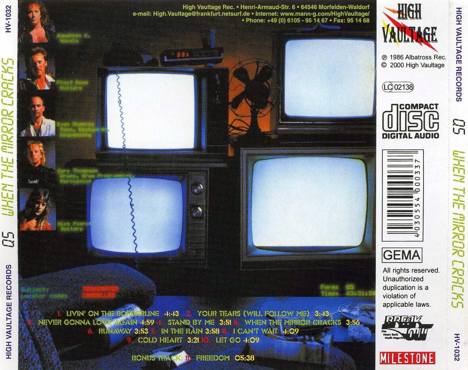 Where Metal Rules Q5 When The Mirror Cracks 1985