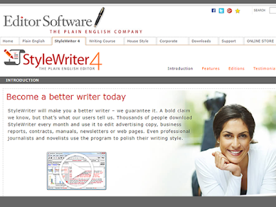 StyleWriter offers an impressively in-depth analysis of your written text