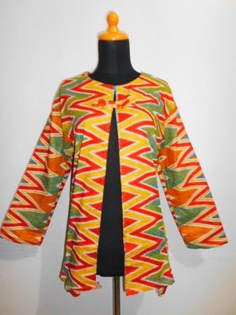 Contoh Model Bolero Batik Terbaru