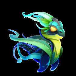 Dragão Relva (Jovem)