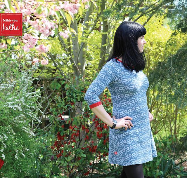"""Kleid Tony von Milchmonster, Lillestoff """"Sew in Love"""""""