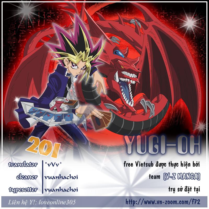YUGI-OH! chap 201 - thách thức cuối cùng trang 1