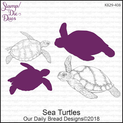 Stamp/Die Duos: Sea Turtles