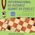 29 agosto a 3 septiembre: V Open Internacional de Ajedrez de Quart de Poblet