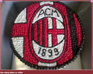 Kue Ulang Tahun AC Milan