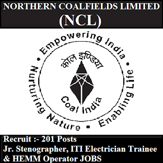 Northern Coalfields Limited, NCL, freejobalert, Sarkari Naukri, NCL Answer Key, Answer Key, ncl logo