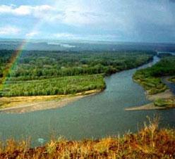 Река Обь фото