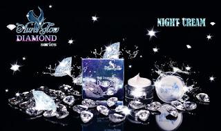 Night Cream Aura Glow Diamond Series