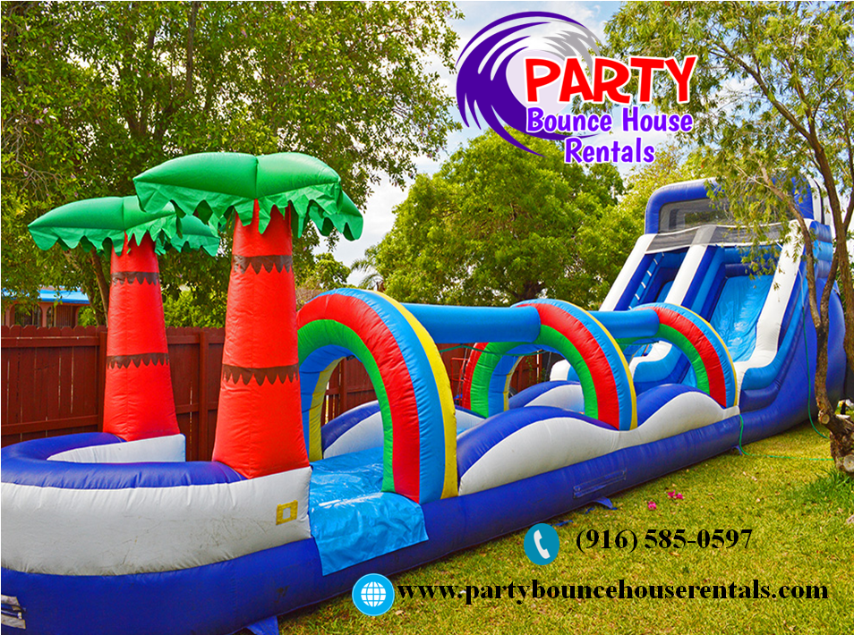 Make Sure Your Kids Jump In This Summer Vacation Party Bounce