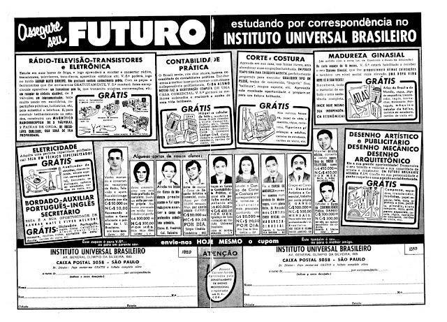 Resultado de imagem para propagandas no Brasil 1969
