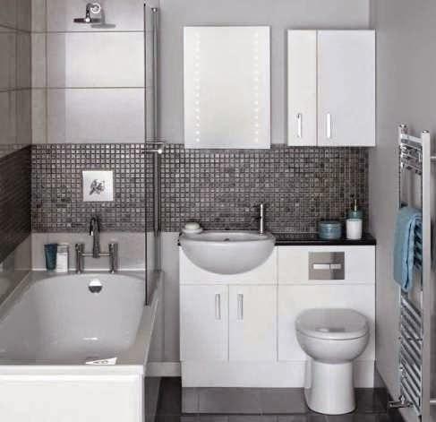Contoh Gambar kamar mandi sederhana yang modern