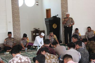 HUT SDM ke-68 Polres Lampung Barat Gelar Lombah Keagamaan