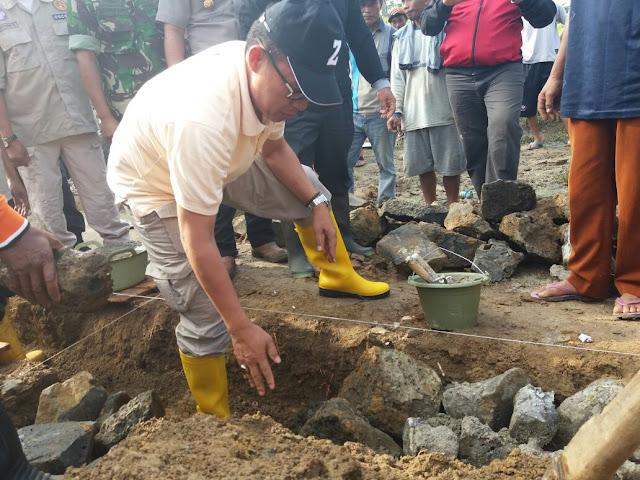 Bedah Rumah Secara Swadaya Masyarakat, Plt. Bupati Lamtim Ucapkan Terimakasih