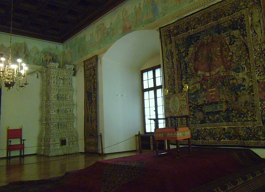 Zamek Królewski na Wawelu. Sala Poselska.