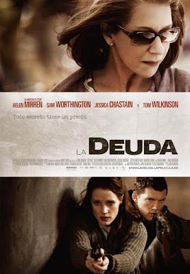 The Debt 2011 DVD R1 NTSC Latino