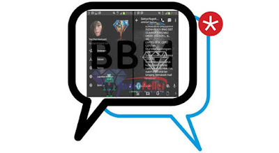 BBM Mod Black Diamond Texture v2.13.1.14 Apk Terbaru