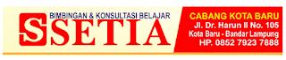 Bimbingan dan Konsultasi Belajar SETIA Lampung