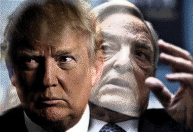 Image result for George Soros AND TRUMP