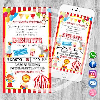 Be Happy Tarjetas De Invitación Cumpleaños