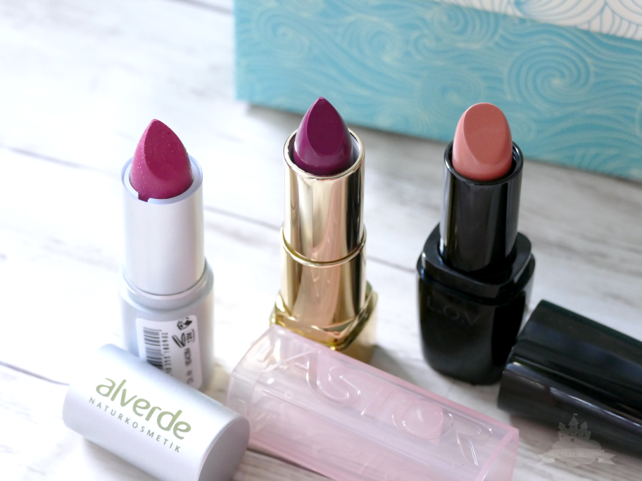 DM Box Wir entdecken - Neue Beautygeheimnisse Lippenstifte