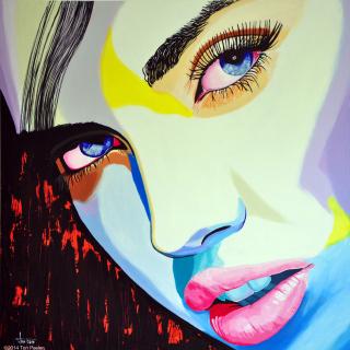 Бельгийский художник. Ton Peelen