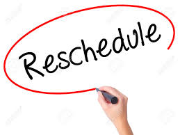 Rescheduling of Missed/Unplanned Papers