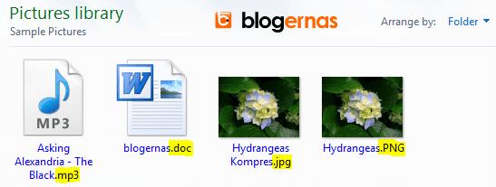 Cara Mengetahui & Melihat Ekstensi suatu File