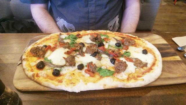 Zizzi Polpette Rustica Pizza