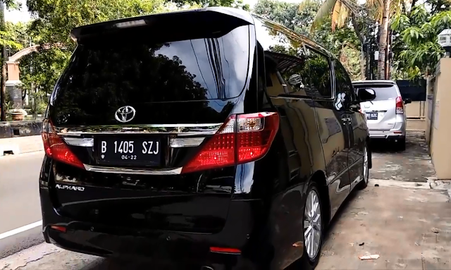 Alphard for Rental