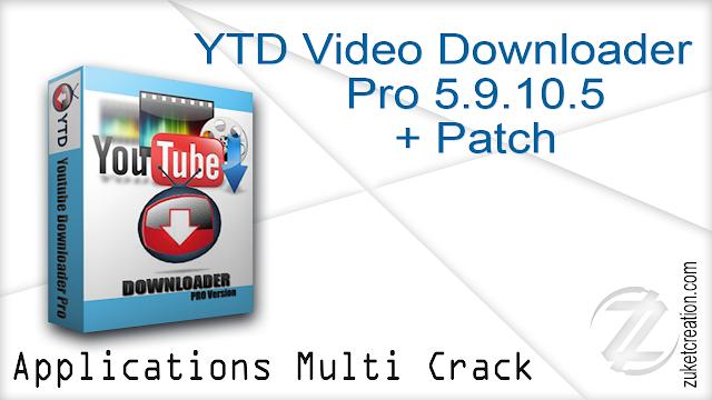 YTD Video Downloader Pro 5.9.10.5+ Patch