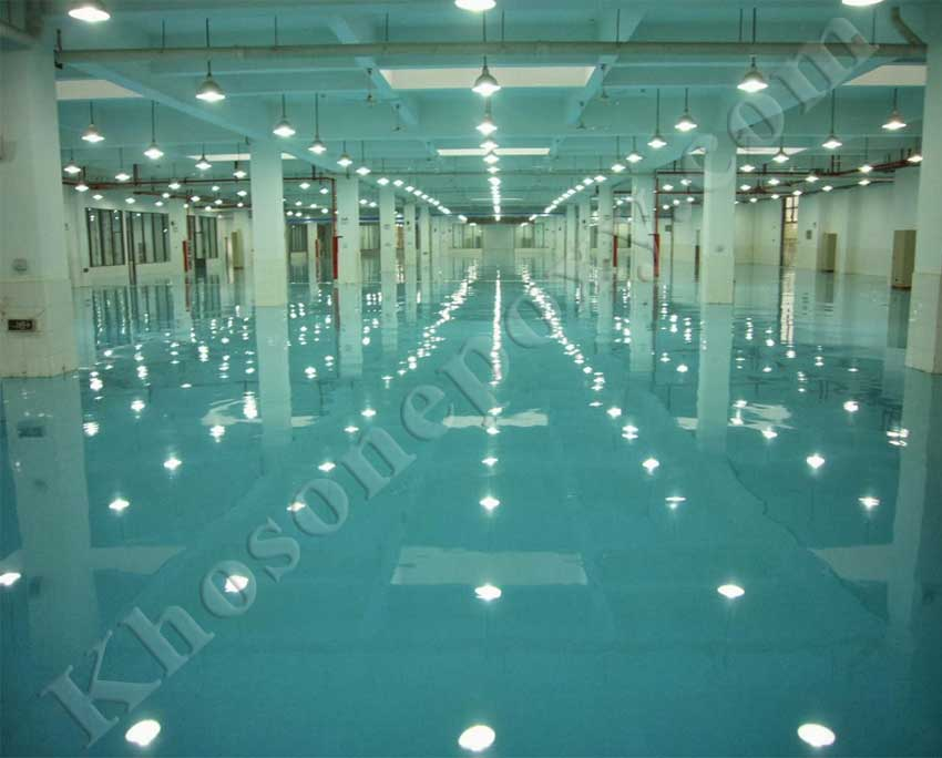 Sơn epoxy sàn nhà xưởng
