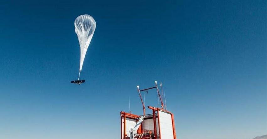 LOON: Alphabet espera ofrecer internet con sus globos en zonas rurales de Perú