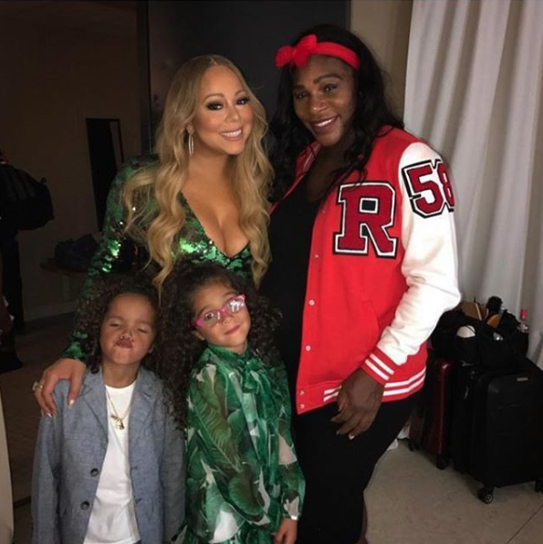 Mariah Carey shares lovely photo with Serena Williams backstage