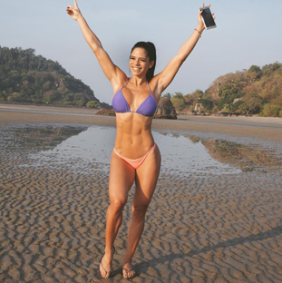 Michelle Lewin Fitness Inspo Women Who Lift Strong Lean Toned Bikini Body Happiness