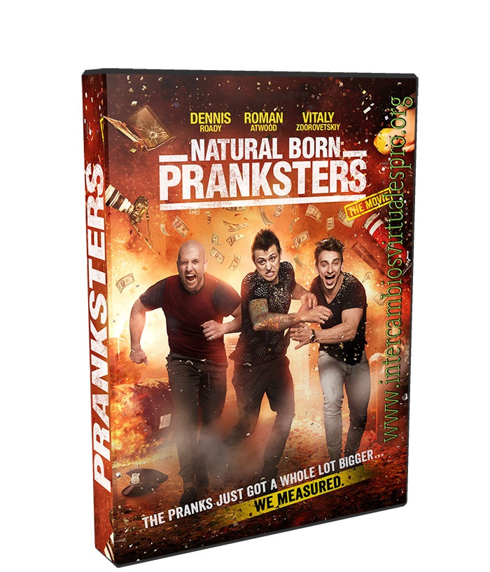 Natural Born Pranksters poster box cover