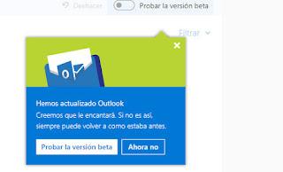 Probamos el Nuevo Correo Outlook Beta, impresiones