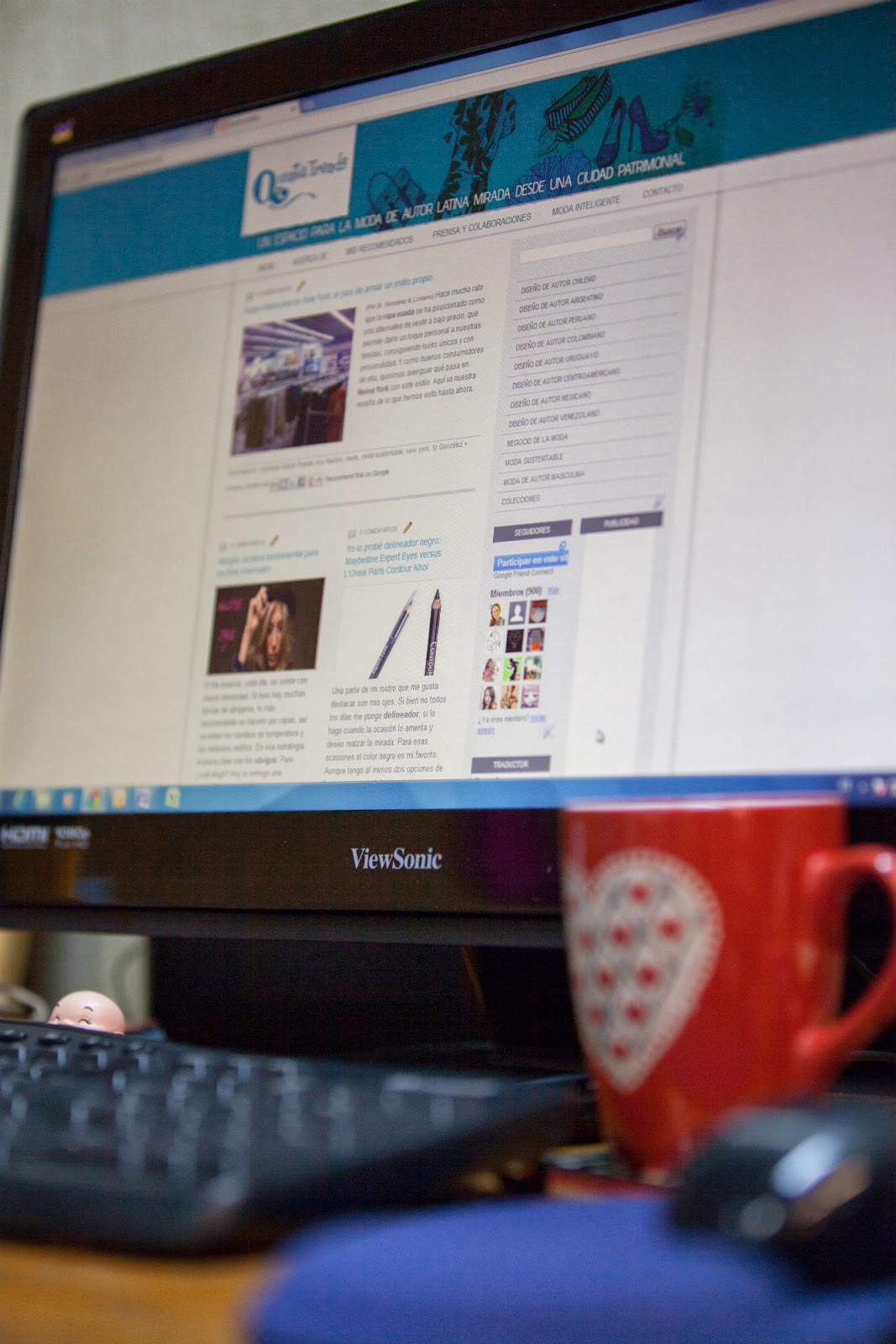 QT (Quinta Trends) en su periodo como blog de moda