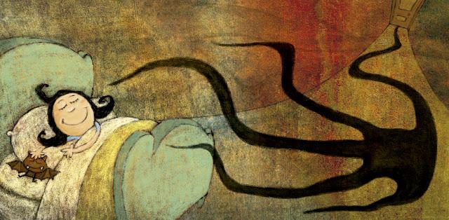 """""""ilustración-morticia 1-ana sáez del arco-illustration-morticia 1"""""""