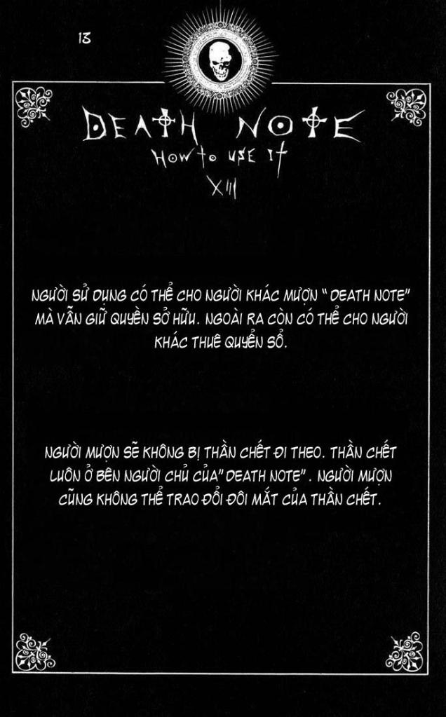 Death Note chapter 110 - how to use trang 16